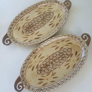 Two Temptations by Tara old world platters